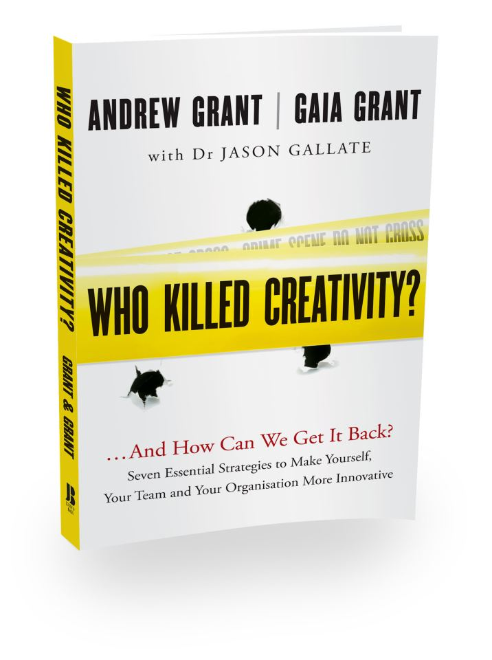 Book: Who Killed Creativity? and How Can We Get It Back?