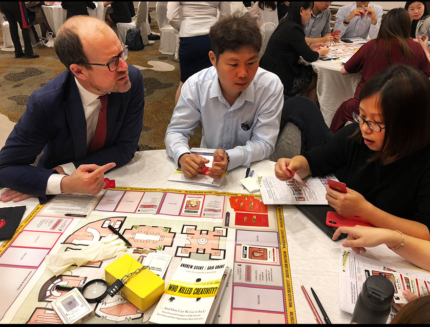 WKC Gameboard Face to face workshops & simulations
